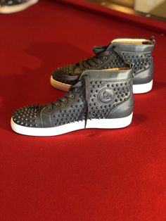 51005d9d0 Extra Off Coupon So Cheap christian louboutin mens sneakers Spiked
