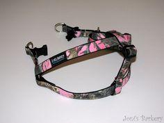 Camouflage Dog Harness True Timber Pink Camo Dog by jonisbarkery, $39.95