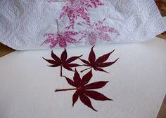 Construir / Marca / Artesanato / Bake: How-to: flor martelado e gravuras folha