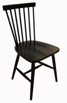 Karl-Oskar pinnstol - svart - 595 kr. Trendrum.se Home Interior Design, Interior Architecture, Karl, Dining Chairs, New Homes, Flooring, Kitchen, Poetry, Decorating Ideas
