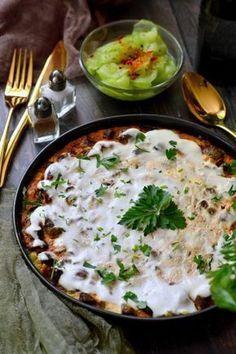 Home - Kifőztük Hungarian Recipes, Hungarian Food, Ciabatta, Palak Paneer, Risotto, Main Dishes, Bacon, Curry, Food And Drink