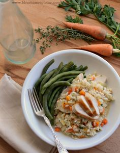 Perfect Stove Top Chicken and Rice. I love comfort food that's good for you! #spon