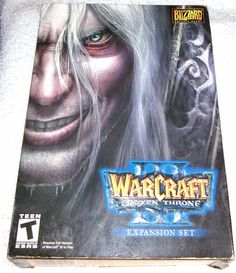 Warcraft III Frozen Throne Expansion PC Game Windows/Mac CD-ROM Complete in Box