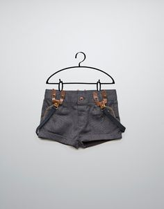 bermuda shorts with braces - Skirts and shorts - Baby girl (3-36 months) - Kids - ZARA United States