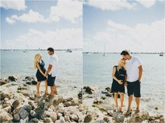 Maternity photos, love the one on the right, sean always kisses me on my head like that <3