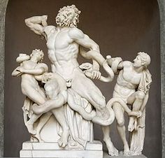 Laocoon & His Sons    The message in remembrance of this piece of art--Listen to even the smallest oppositional or defiant voice regarding the status quo or accepted idol.  That voice may have a message well worth heeding.