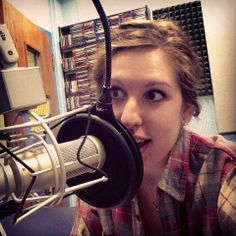 Senior year: Selfie-durning my new advice show on The Stinger Radio. #askemilee #beatsbybees