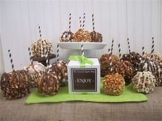 gourmet candy apples - Google Search
