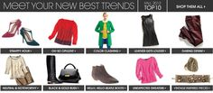 Women: Color clashing Top 10 fall trends | Piperlime