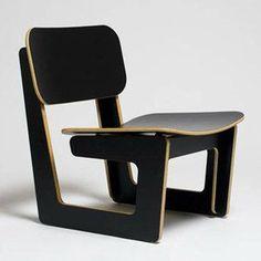 ARRé Design Capital Chair Black