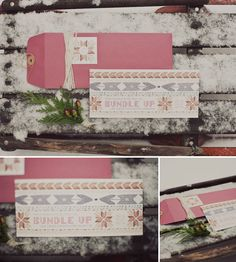 winter bachelorette party invites - free download available from Green Wedding Shoes