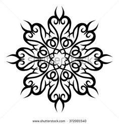 Tattoo. Stencil. Pattern. Design. Ornament