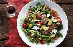 Warm Beef & Veggie Amaranth Salad
