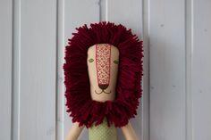 Stuffed animal Alex the Lion by ByKarelinaToys on Etsy