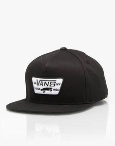 wholesale dealer e482e fd2fb Buy Vans Full Patch Snapback Cap - Black from Route One