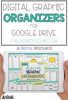 These NO PREP digital graphic organizers will help your students take notes on ANY topic or subject you teach! Use these for math, science, social studies, language arts, reading comprehension and more! Google Classroom, School Classroom, Classroom Ideas, Future Classroom, Flipped Classroom, Classroom Resources, Teaching Technology, Educational Technology, Teaching Resources