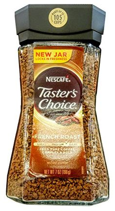 Nescafe Tasters Choice Instant Coffee French Roast 7 Ounce ** Read more at the image link. (This is an affiliate link)
