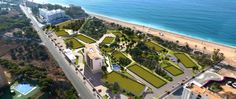 Aerial view of Villajoyosa. Firstline apartments for sale  http://www.taylorwimpeyspain.com/newsletter/costaBlanca/Calpesol-LaVila_en.htm