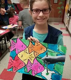 MC Escher Tessellations | Art with Mrs. Seitz | Bloglovin'