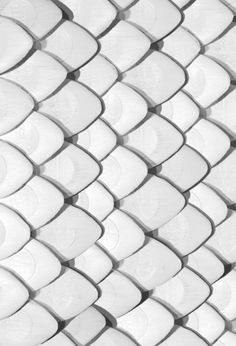 white scales, all white everything, texture inspiration, monochromatic color palettes, color inspiration Textures Patterns, Color Patterns, Print Patterns, Fun Patterns, 3d Modellierung, Organic Forms, Shades Of White, Black And White, White Art