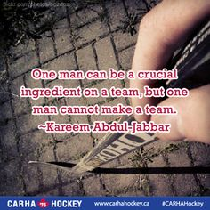 We are dedicated to servicing the adult recreational and oldtimers hockey community in Canada. We strive to develop and deliver hockey resources that assist team, league and tournament organizers across Canada and around the world. Motivational Soccer Quotes, Sport Quotes, Inspirational Quotes, Uplifting Words, Field Hockey, Sport Motivation, A Team, Qoutes, Wisdom