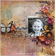 Live. Laugh. Love.: Workshop Finnabair: Layout 'Wonderful'
