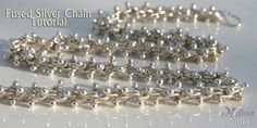 $4.50 Fused Silver Chain Tutorial - Kelsi's Closet Jewelbox Design Journal