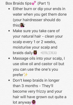 natural hair and box braids image