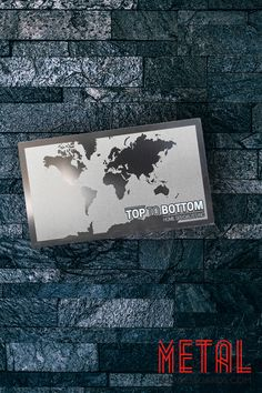 This stainless steel card with a matte finish is sure to get people buzzing about your business. Fill out a quote form today on our website to create metal business cards you can call your own.