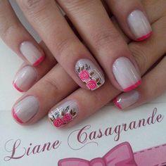 43 Mejores Imágenes De Uñas Delicadas Cute Nails Pretty Nails Y