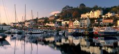 St.Aubins bay, Jersey, Channel Island, UK.  Completely and utterly charming.