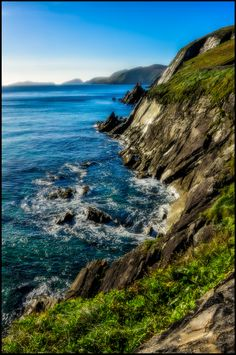 ~The Cliffs~  Dingle Peninsula, Ireland  HDR Photography by Barb Cochran