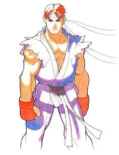 Street Fighter Zero: Ryu
