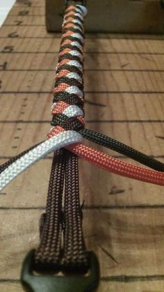 Four Strand Paracord Braid by khanittha
