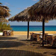 Madeira Islands Travel Guide - by European Best Destinations #Portugal | Photo: Porto Santo beach restaurant