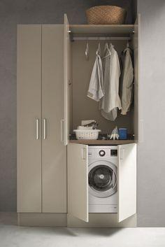 #arblu #laundry #bathroom #bathroomdesign #bathdesign #bathroomdecor #bathdecor #bagnodesign #arredocasa #arredobagno #arredamento #interiorstyle #interiorstyling #interiorstylist #homedesign Stacked Washer Dryer, Washer And Dryer, Laundry Room Design, Bathroom Furniture, Cupboard, Washing Machine, Home Appliances, Decor, Google