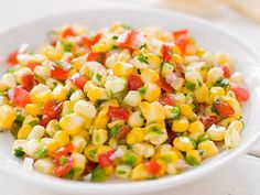 Fresh Corn Salsa with Tomato Published July 1, 2012. From Cook's Illustrated. Why this recipe works: Steeping corn kernels in boiling water with a touch of baking soda worked like magic to soften the raw corn and loosen the hulls. As the corn steeped, its hulls softened just enough that they weren't leathery, but the kernels in our corn salsa recipes still burst with crisp sweetness.