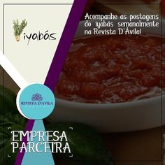Acompanhe as novidades da Iyabás também pela Revista D'Ávila fique por dentro!  http://ift.tt/1UOAUiP
