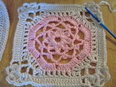 original pattern: http://www.crochetpatterncentral.com/patterns/victorian_dream_square.php