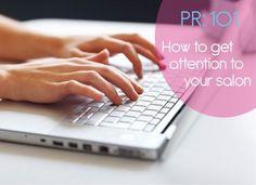 PR Advice for Salons