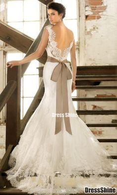 lace wedding dress lace wedding dress. So pretty! And unique.