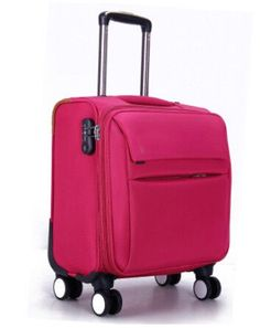 New Arrival hot 16inch Oxford Cloth Business Trolley Luggage Travel  Suitcase Boarding Laptop Travel Bag For Men and Women 7b45aa1d00