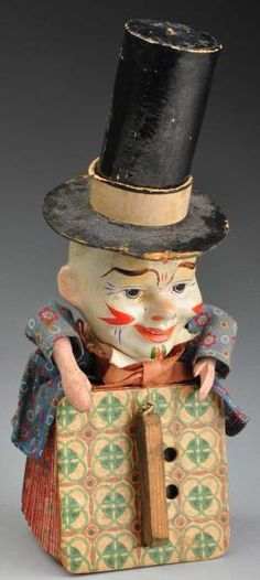 toys in the attic by Jeanie Holland ~~ Image Wonderful Jack-in-the-Box Musical Accordion Piece Jack In The Box, Antique Toys, Vintage Antiques, Vintage Items, Creepy Vintage, Vintage Halloween, Vintage Paper, Vintage Dolls, Toys In The Attic