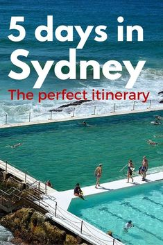 Travelling to Sydney soon? This bespoke 5 day itinerary will cover it all: culture and history, nature and animals, beaches and family fun. #sydney #australia #travel  (scheduled via http://www.tailwindapp.com?utm_source=pinterest&utm_medium=twpin&utm_con #AustraliaTravel2Weeks