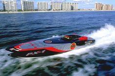 Bacardi Silver Race Boat #motorboatinggirls