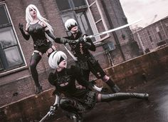 Cosplay Blog of Syrupcookie - syrupcookie: Nier: Automata photoset A couple of...