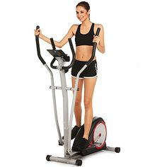 Trbitty Elliptical Machine Trainer Magnetic Smooth Quiet Driven with LCD Monitor and Pulse Rate Grips - http://physicalfitnessshop.com/shop/trbitty-elliptical-machine-trainer-magnetic-smooth-quiet-driven-with-lcd-monitor-and-pulse-rate-grips/ http://physicalfitnessshop.com/wp-content/uploads/2018/04/345b04fc739a.jpg
