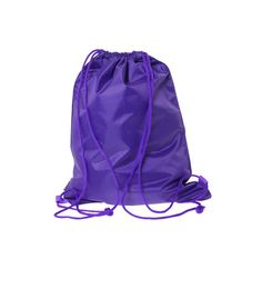 """The Tortoise Trainer"" Purple Sackpack for $19,90"