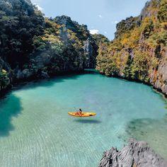 Small Lake El Nido, puerta Princesa, Philippinnes