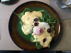 Eggs Benedict in Vienna (Part 2) - they still look different in every place Croissants, Onsen Egg, Sesame Bagel, Scrambled Eggs With Cheese, Breakfast Around The World, Eggs Florentine, Rosemary Potatoes, Avocado Cream, Egg Dish